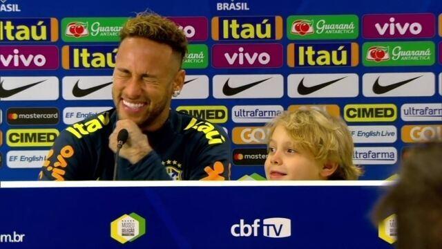 Neymar diz que David Lucca pediu para Richarlison fazer a dança do pombo