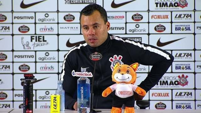 Veja o que falou o técnico Jair Ventura após a vitória do Corinthians sobre o Vasco