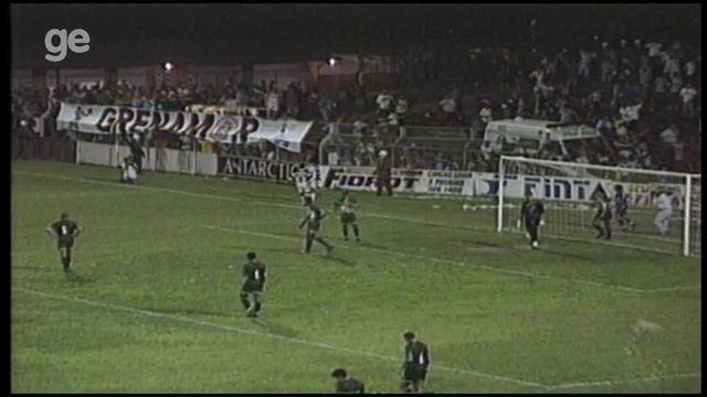 Os gols de Desportiva Ferroviária 2 x 0 Gama, pela Série B do Brasileiro 1998