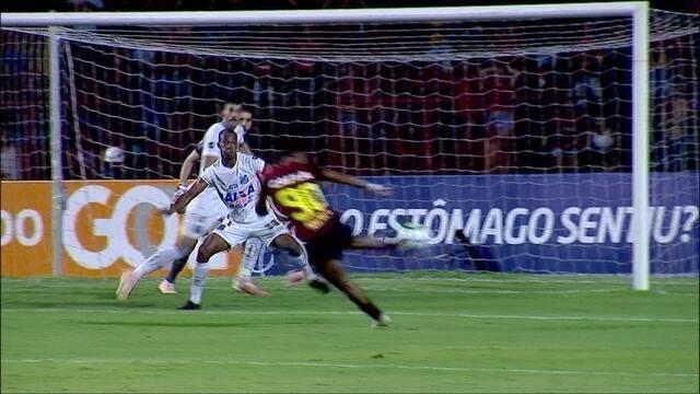 Os gols de Sport 2 x 1 Santos pela 38ª rodada do Brasileirão