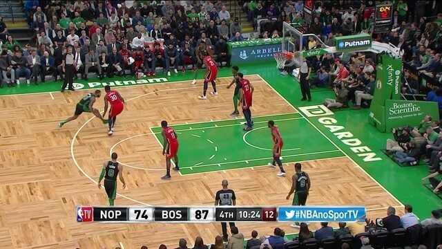 Melhores momentos: New Orleans Pelicans 100 x 113 Boston Celtics pela NBA