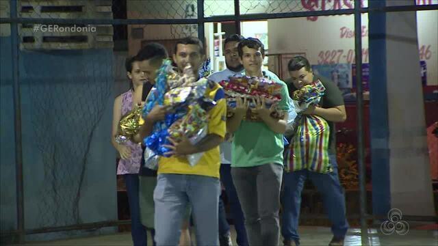 Porto Velho Miners anuncia quem tirou no Amigo Secreto do Globo Esporte