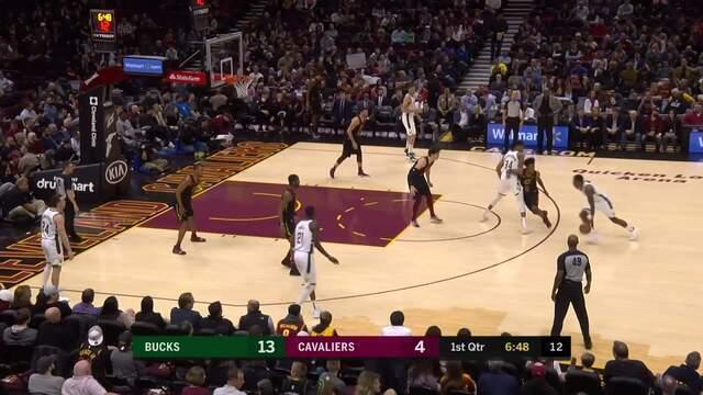 Melhores momentos: Milwaukee Bucks 114 x 102 Cleveland Cavaliers pela NBA