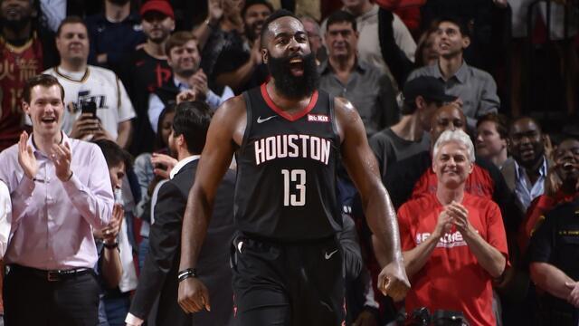 Melhores Momentos: Houston Rockets 102 x 97 Utah Jazz, pela NBA