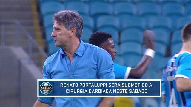 Médico do Grêmio explica cirurgia no coração a que Renato Portaluppi será submetido