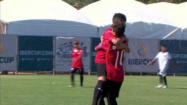 Os gols de Independiente x Grêmio Curitiba pela Ibercup 2019