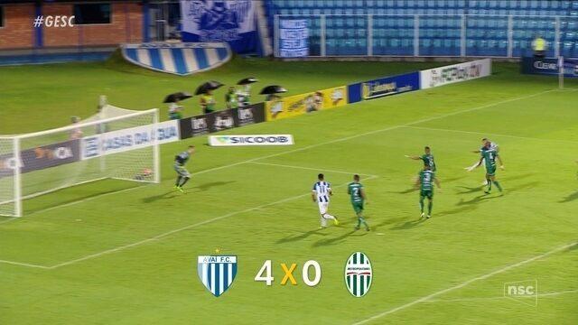 Avaí goleia o Metropolitano na primeira rodada do Catarinense 2019