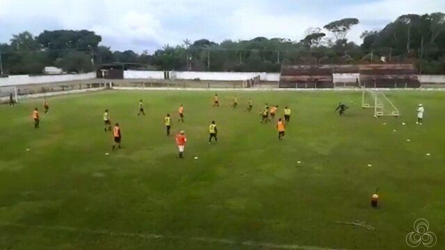 Time do Ypiranga que foi campeão estadual de 2018 segue treinando no CT do Carajás no Pará