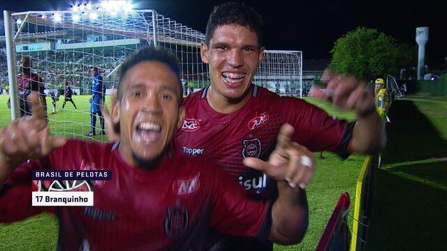 Os gols de Avenida 1 x 1 Brasil de Pelotas pelo Campeonato Gaúcho