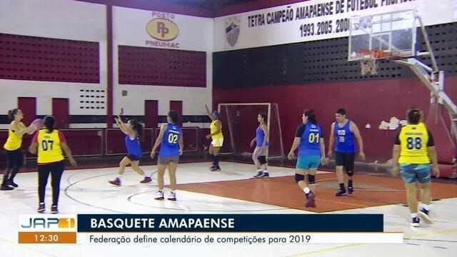 Federação do basquete amapaense define calendário de competições para 2019