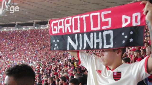 Torcedores prestam homenagens aos Garotos do Ninho e se emocionam no Maracanã