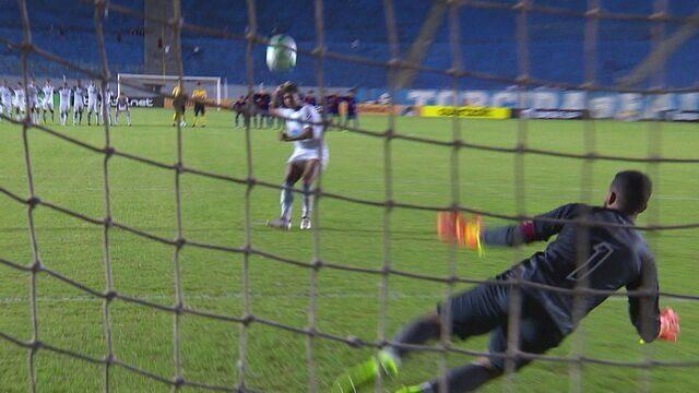 Os pênaltis de Londrina 1 (5) x (4) 1 Paraná pela Copa do Brasil