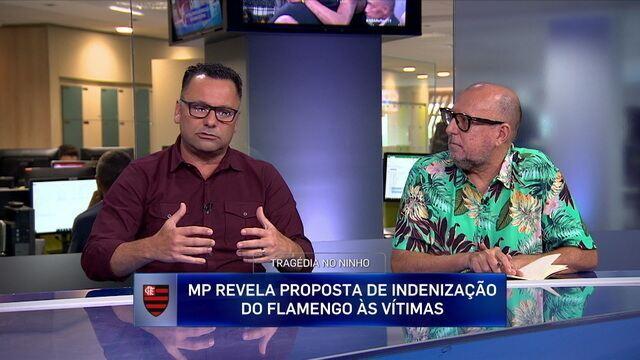 Francisco Aiello reclama de postura do Flamengo em relação às vítimas de incêndio