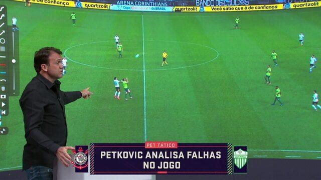 Pet Tático: Sérvio analisa falhas da defesa do Corinthians na vitória contra o Avenida