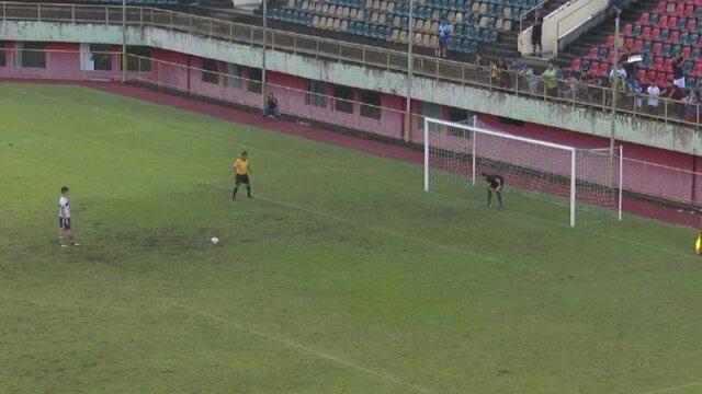 Veja os gols da classificação do Atlético-AC sobre o Independência, na semi do turno