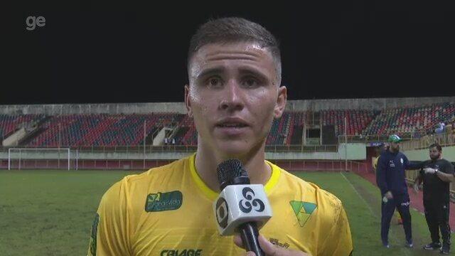 """Capitão do Galvez cita estratégia de """"jogar por uma bola"""", destaca luta e mira estadual"""