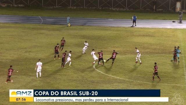 Inter suporta pressão, vence o Trem e se garante na 2ª fase da Copa do Brasil Sub-20