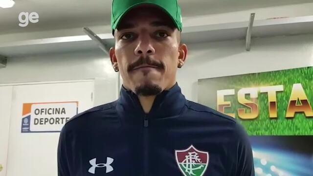 """Gilberto explica lance que gerou gol do Antofagasta: """"Bola escapou do pé"""""""