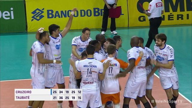 5 set: Taubaté vence por 15/12 e está na final da Superliga