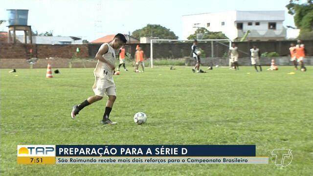 São Raimundo intensifica treinos para estreia na Série D do Brasileirão