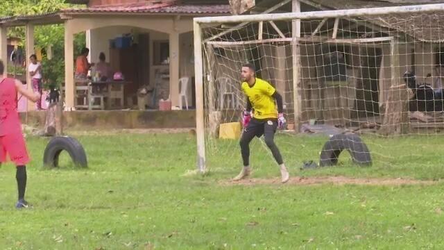 Tião deve ser titular no gol do Galvez no primeiro jogo da decisão do Campeonato Acreano