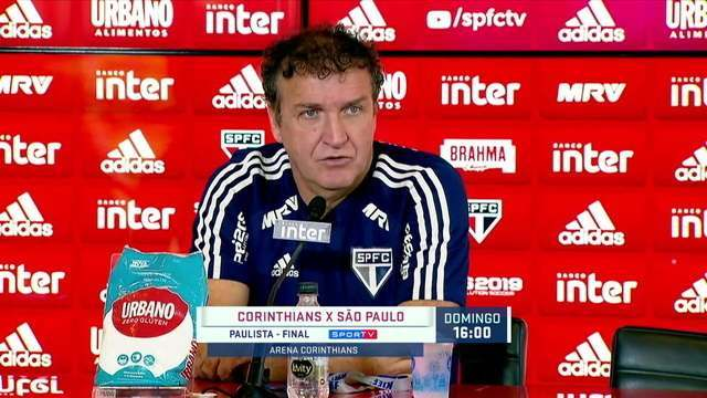 Entrevista do técnico Cuca sobre a final do Campeonato Paulista