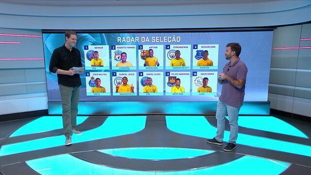 Radar da Seleção: Neymar volta a jogar e retorna à lista