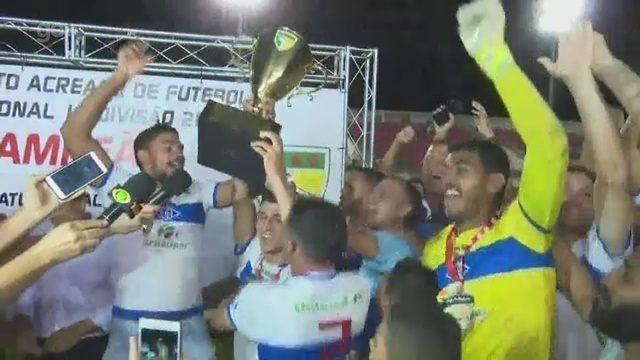 Assista os gols e a disputa de pênaltis que deu ao Atlético-AC o título estadual invicto