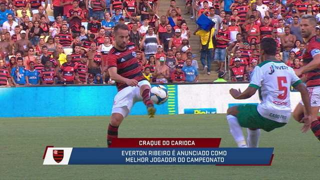 Everton Ribeiro é eleito o craque do Campeonato Carioca