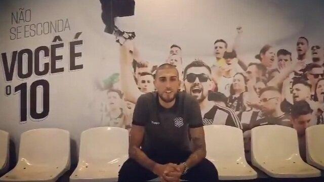 Figueira divulga vídeo de apresentação de Rafael Marques, novo reforço do clube