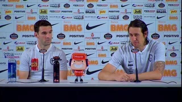 Veja as entrevistas de Boselli e Cássio após classificação do Corinthians