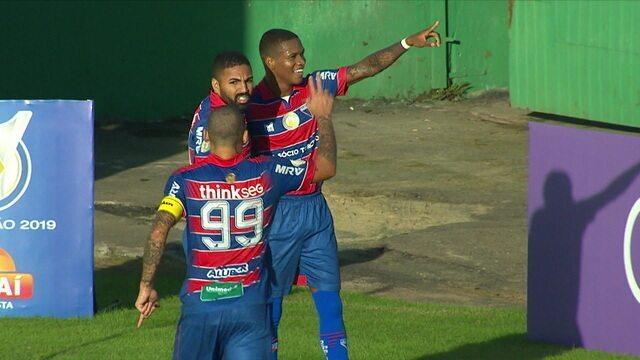 Os gols de Chapecoense 1 x 3 Fortaleza pela 5ª rodada do Brasileiro 2019