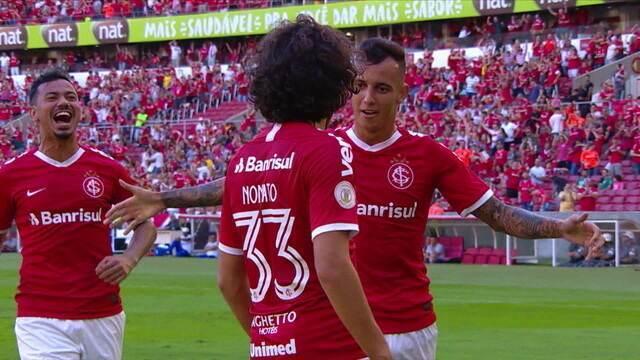 Os gols Internacional 2 x 0 CSA pela 5ª rodada do Brasileirão 2019