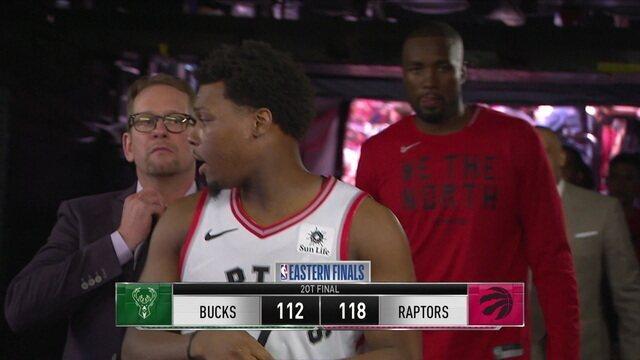Melhores momentos: Milwaukee Bucks 112 x 118 Toronto Raptors pela NBA