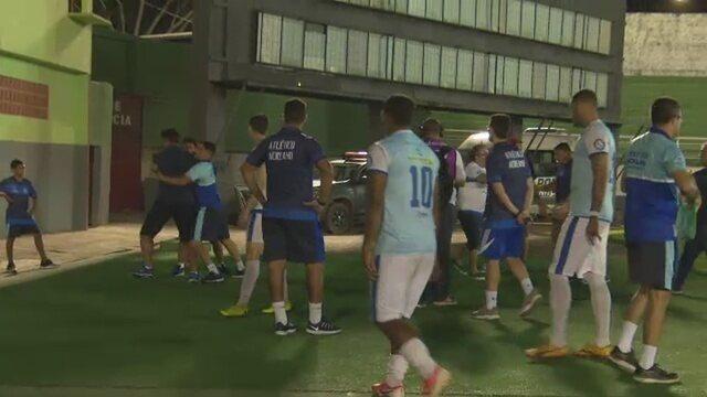 Presidente e técnico do Atlético-AC têm discussão acalorada após empate na Série C