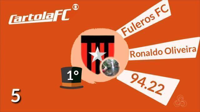 Conheça o mito da rodada no Cartola FC