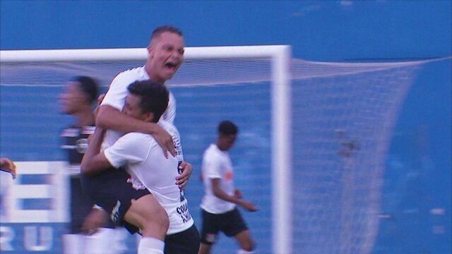 Os gols de Corinthians 3 x 0 Botafogo pelo Campeonato Brasileiro Sub-17