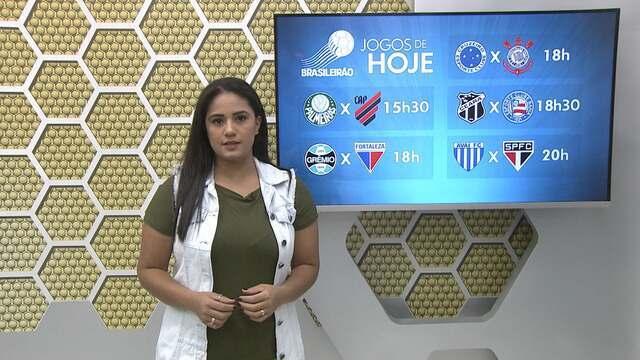 Veja a íntegra do Globo Esporte deste sábado (08)