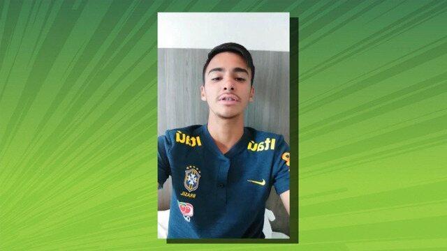 Conheça a história de Jonathan Moura, o roraimense convocado para a Seleção Sub-17