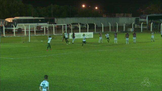O Real Ariquemes enfrenta o Manaus na segunda fase do Brasileirão Série D