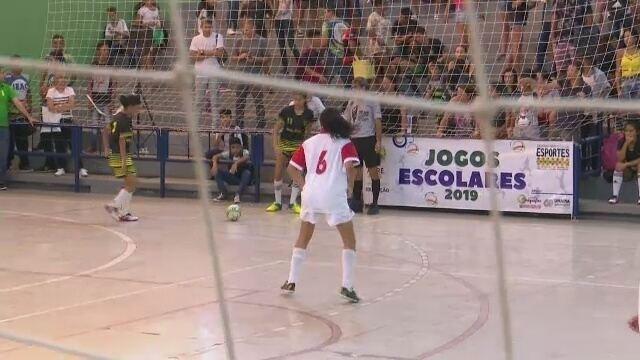 Conhecidos os campeões do futsal na fase municipal dos Jogos Escolares em Rio Branco