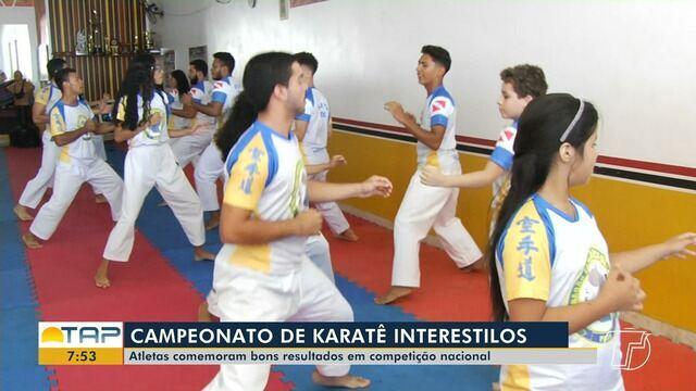 Karatecas de Santarém e Monte Alegre disputaram campeonato em Pernambuco e se deram bem