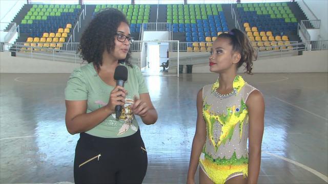 Bate-Papo GE: Ginasta Duda fala de experiência de levar Tocha dos Jogos Escolares de RO