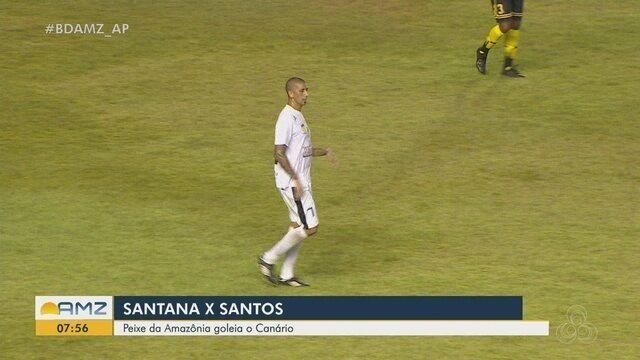 Acosta volta a marca em 2019 pelo Santos-AP no Campeonato Amapaense