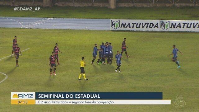 Assista aos gols da vitória do Ypiranga em cima do Trem na semifinal do Amapazão 2019