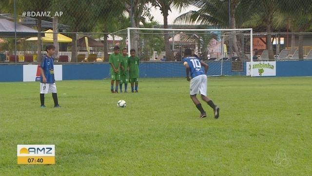 Copa Rede Amazônica Sub-13 tem partidas com lances bonitos e até goleada do Canário
