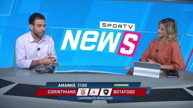Loffredo não vê nível semelhante entre Cássio e Walter no gol do Corinthians