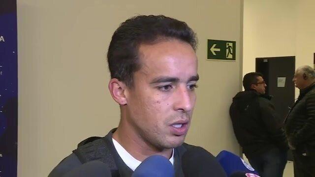 Jadson diz que 0 a 0 não foi ruim para o Corinthians