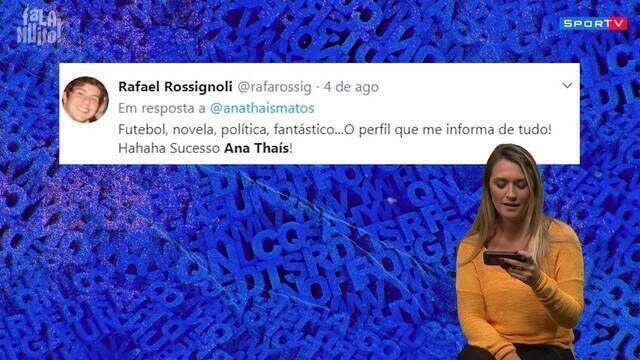 Leitura de Comentários: Ana Thaís Matos