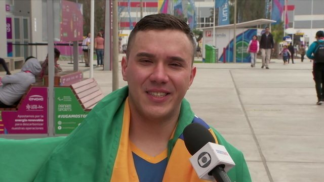 Paulo Salmin vence no tênis de mesa e fatura segundo ouro do Brasil nos Jogos Parapan-Americanos